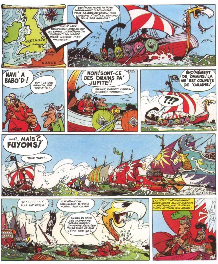 T8 : Astérix chez les Bretons page 1