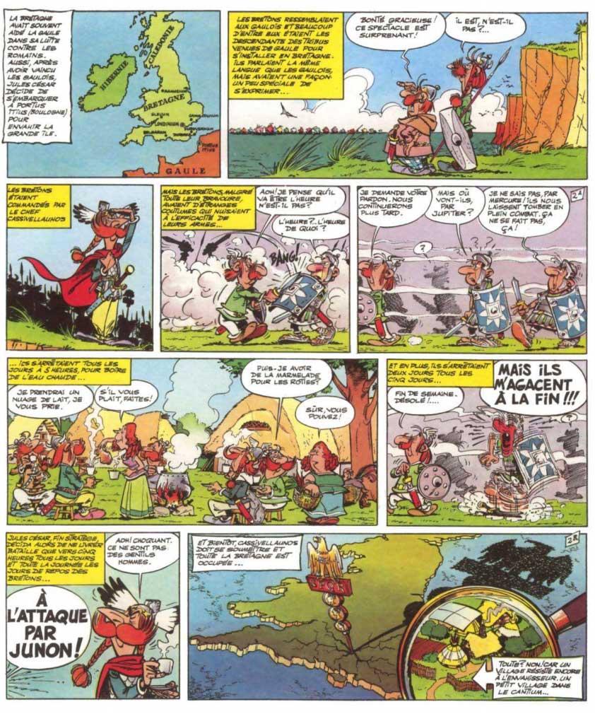 T8 : Astérix chez les Bretons page 2