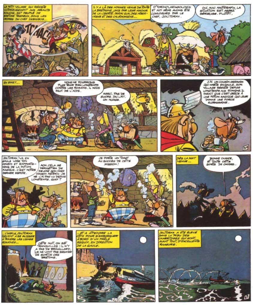 T8 : Astérix chez les Bretons page 3
