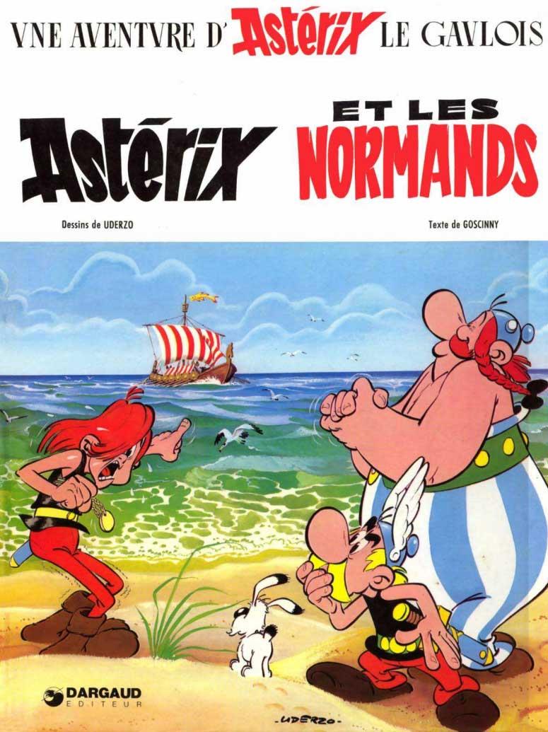 T9 : Astérix et les Normands couverture