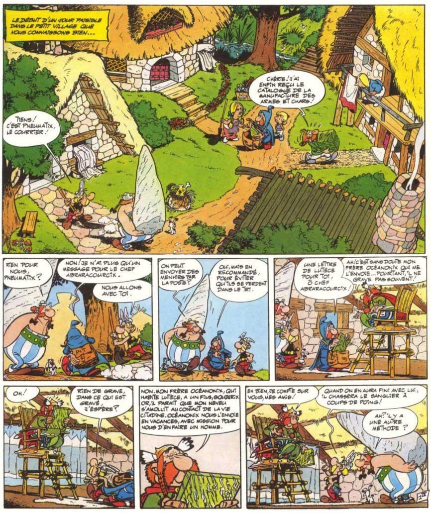 T9 : Astérix et les Normands page 1