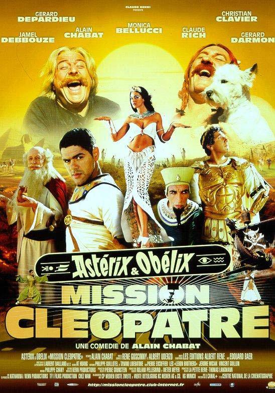 Affiche du film Astérix et Obélix : mission Cléopatre