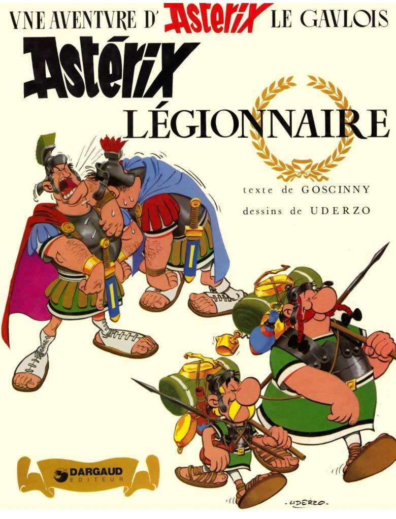 T10 : Astérix légionnaire couverture