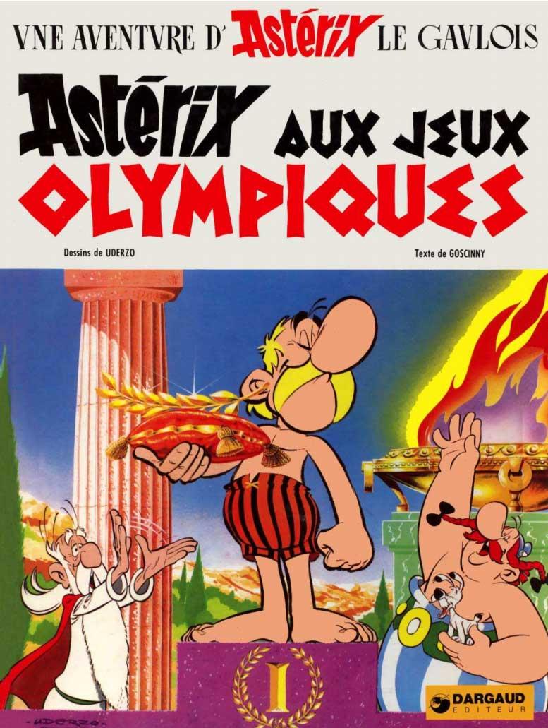 T12 : Astérix aux Jeux olympiques couverture