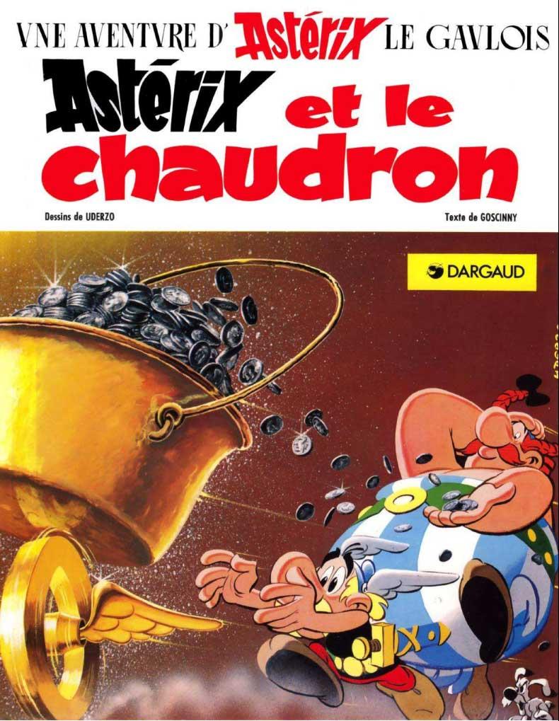 T13 : Astérix et le Chaudron couverture