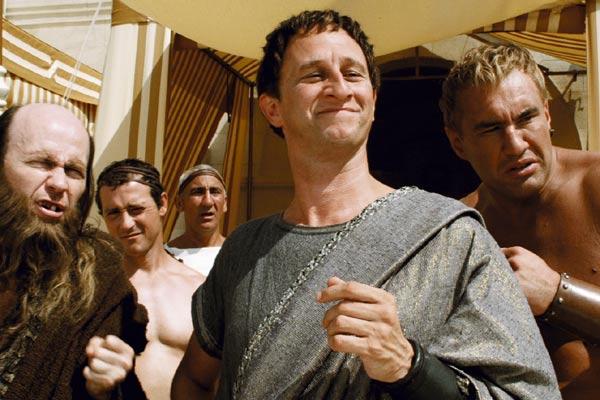Brutus entouré de son équipe