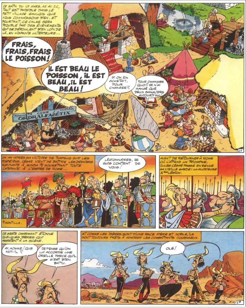 T14 : Astérix en Hispanie page 1
