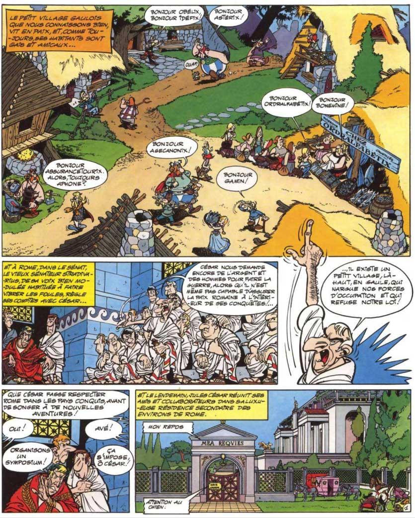 T15 : La Zizanie (Astérix) page 1