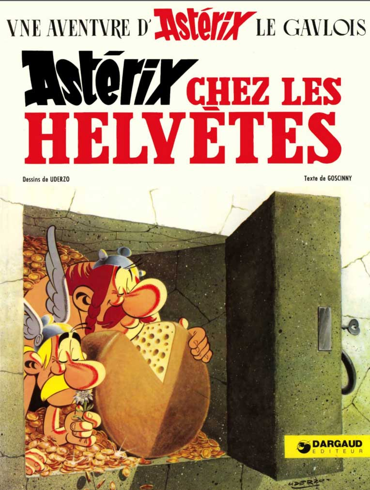 T16 : Astrix chez les Helvtes couverture