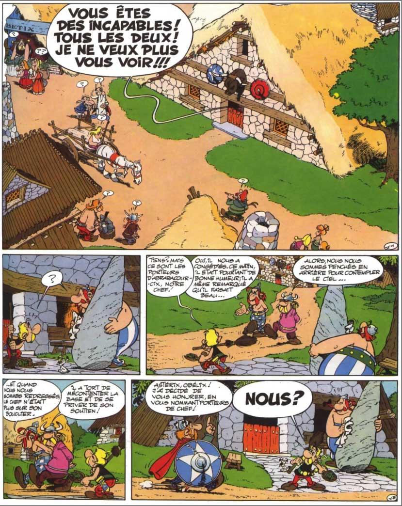 T16 : Astérix chez les Helvètes page 1