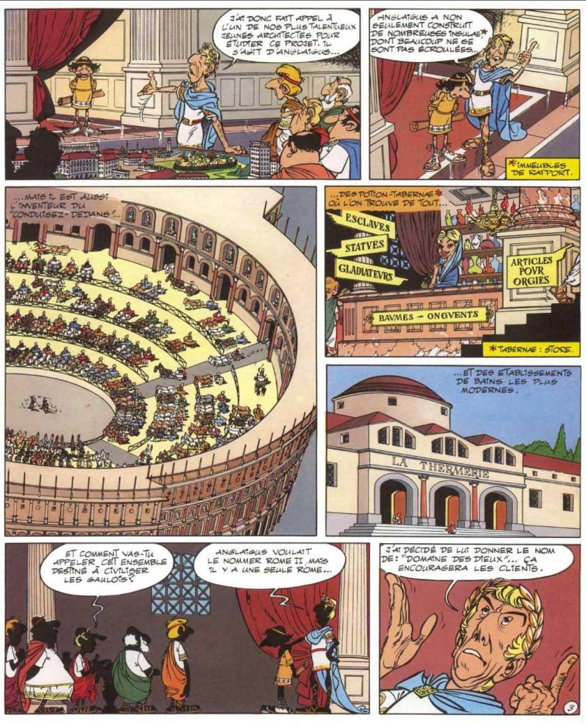 Le Domaine des dieux (Astérix) page 4
