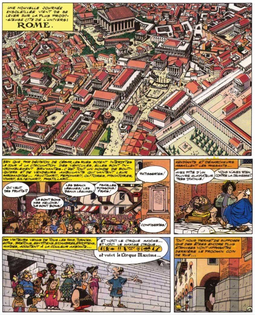T18 : Les Lauriers de César (Astérix) page 1