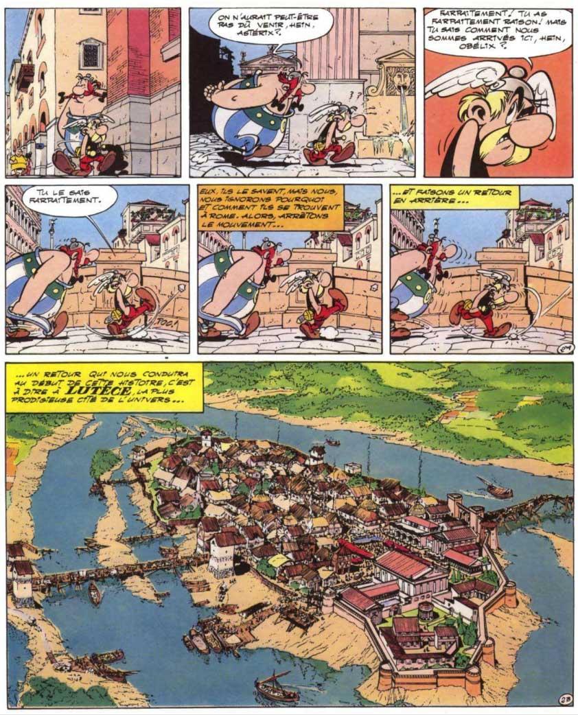T18 : Les Lauriers de César (Astérix) page 2