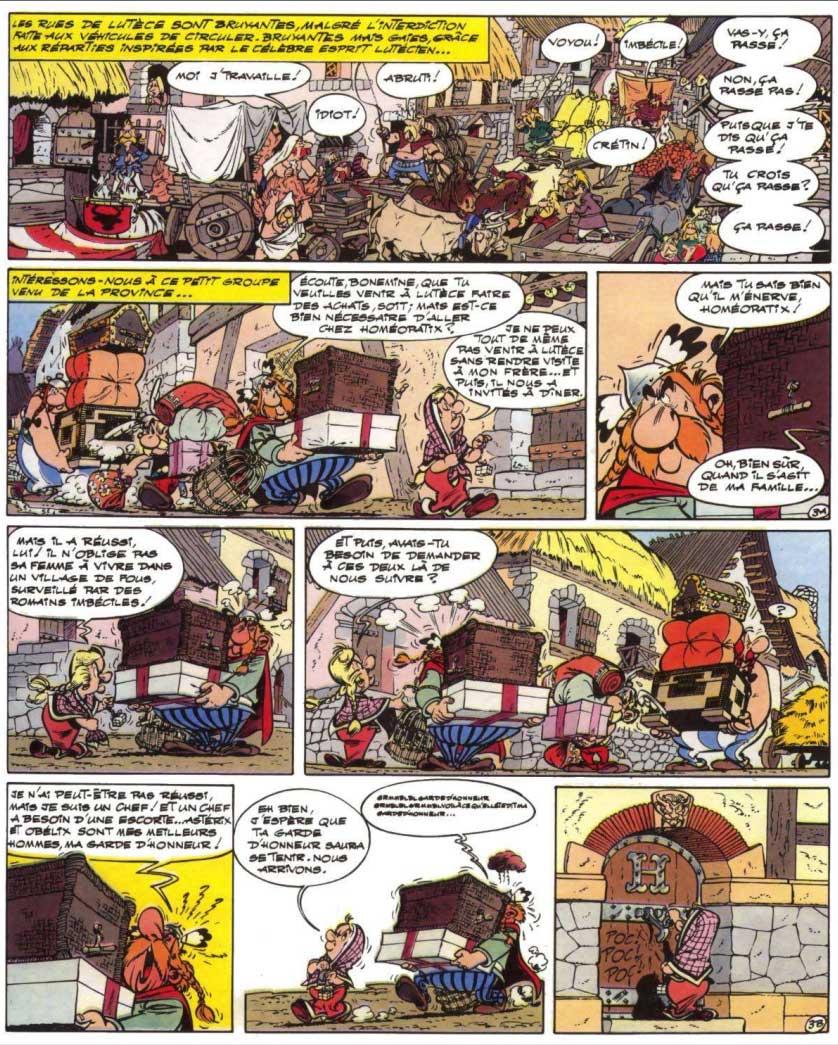 T18 : Les Lauriers de César (Astérix) page 3