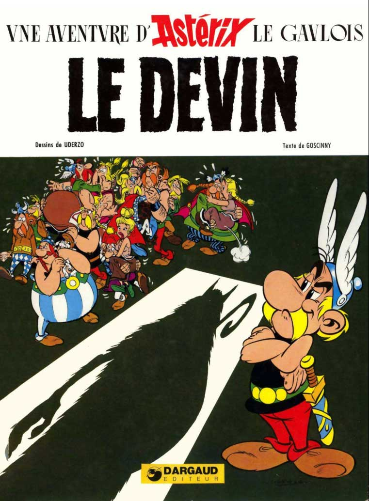 T19 : Le Devin (Astérix) couverture