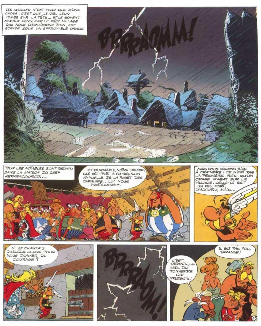 T19 : Le Devin (Astérix) page 1
