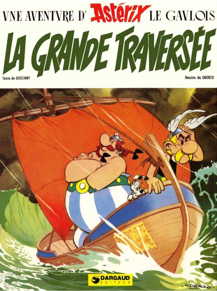 T22 : La Grande Traversée (Astérix) couverture