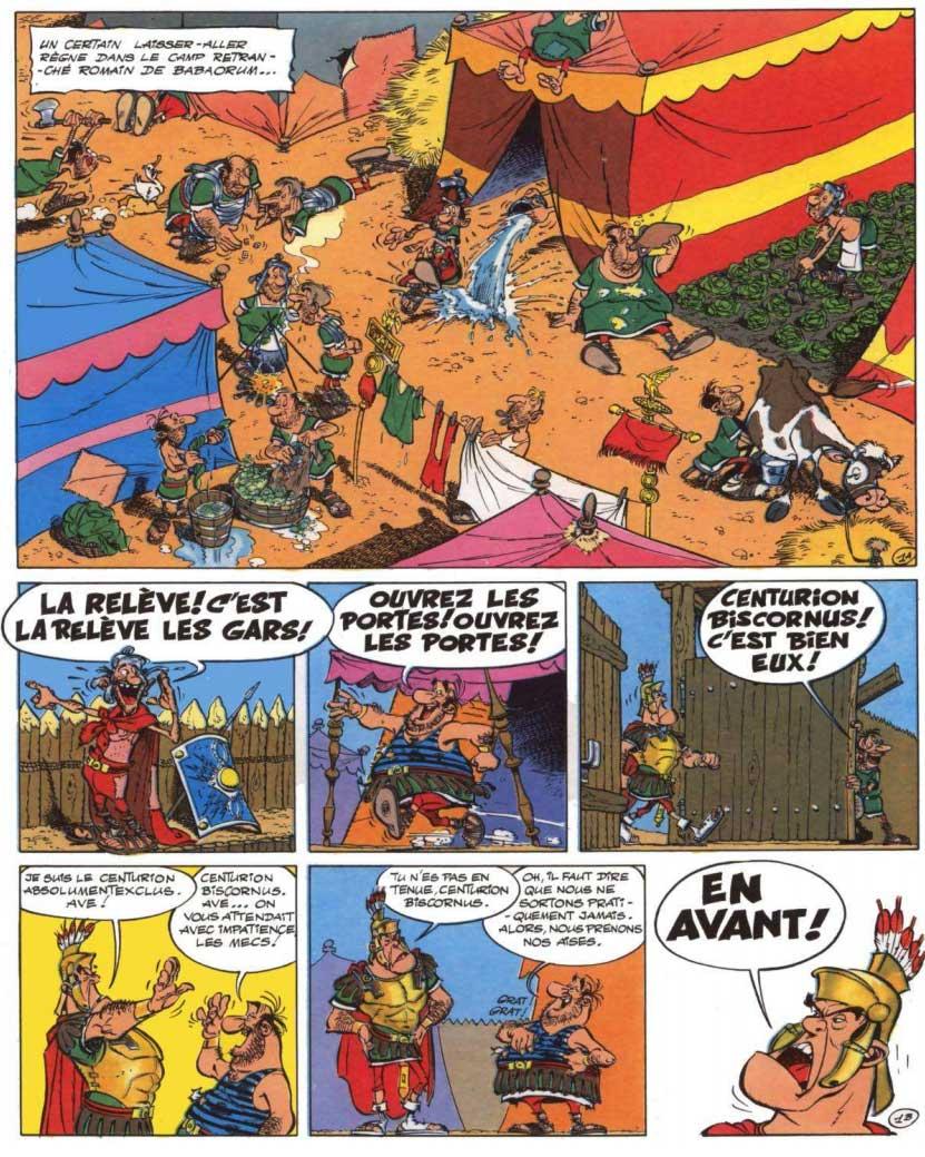 T23 : Obélix et compagnie page 1