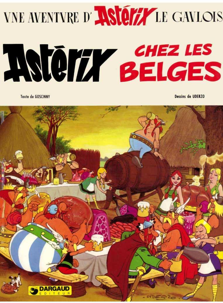 T24 : Astérix chez les Belges couverture