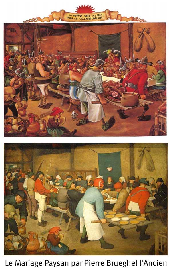 Le Mariage Paysan par Pierre Brueghel l'Ancien