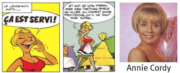 Nicotine est une caricature de Annie Cordy