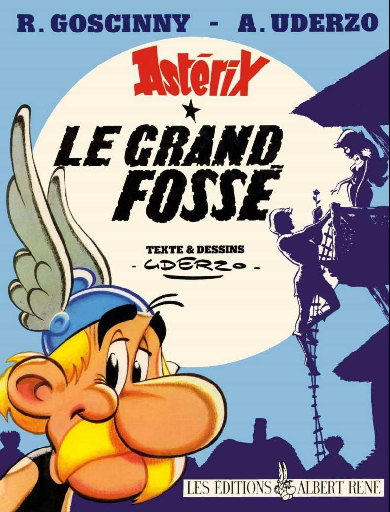 T25 : Le grand fossé (Astérix) couverture