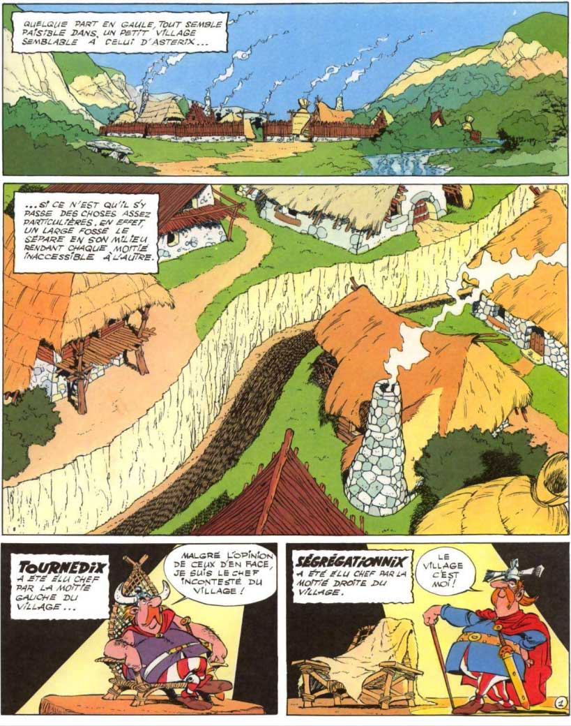T25 : Le grand fossé (Astérix) page 1