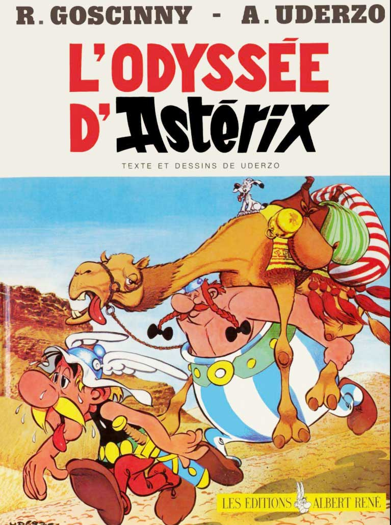 T26 : L'Odyssée d'Astérix couverture