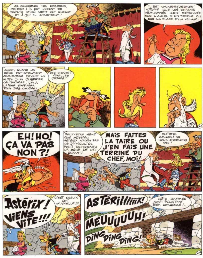 bande dessinee le fils d'asterix