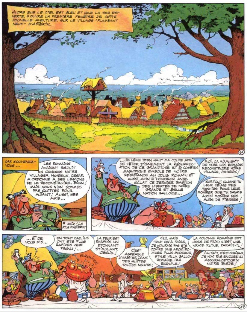 T28 : Astérix chez Rahàzade page 1