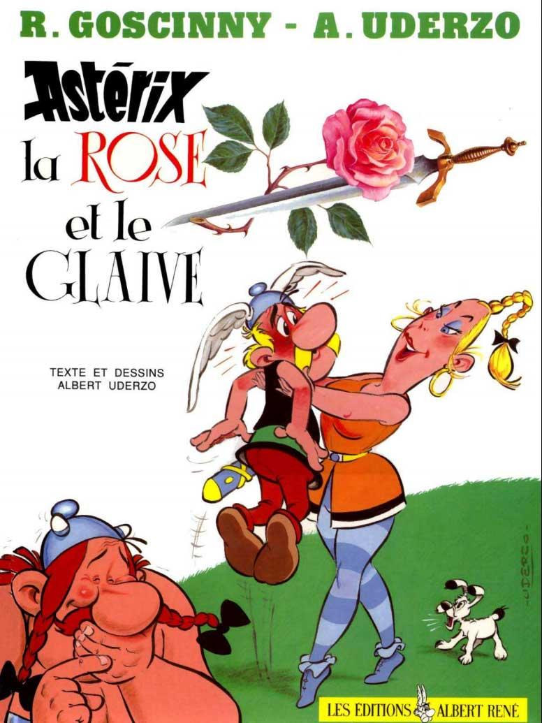 T29 : La Rose et le Glaive (Astérix) couverture