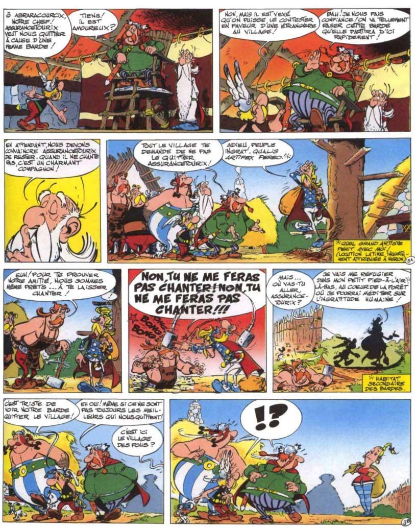 T29 : La Rose et le Glaive (Astérix) page 3