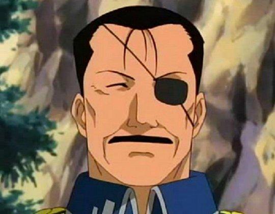 King Bradley (homonculus Wrath) - Fullmetal Alchemist