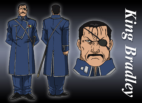 Model Sheet de King Bradley
