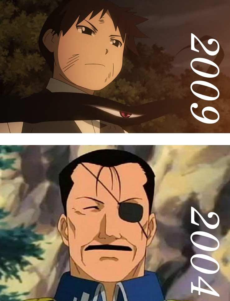 Pride n'a pas le même design entre la série de 2004 et le manga (et son adaptation de 2009) - Fullmetal Alchemist
