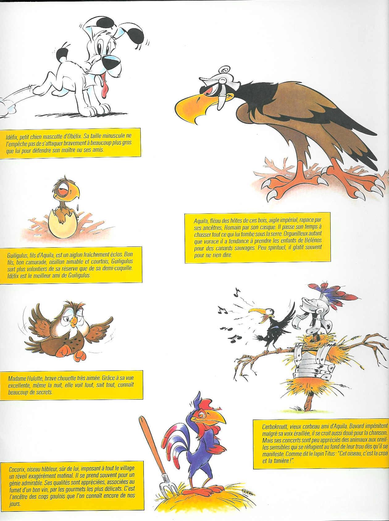 Seconde collection de livre pour enfants avec Idéfix (1983) les personnages
