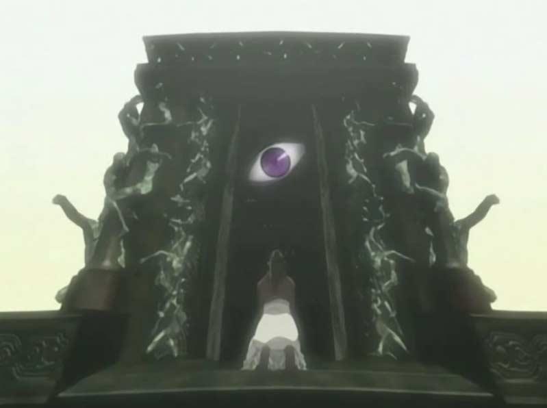 En voyant que ce qu'elle avait transmuté n'avait rien d'humain, Izumi a abandonné Wrath derrière la Porte de la Vérité