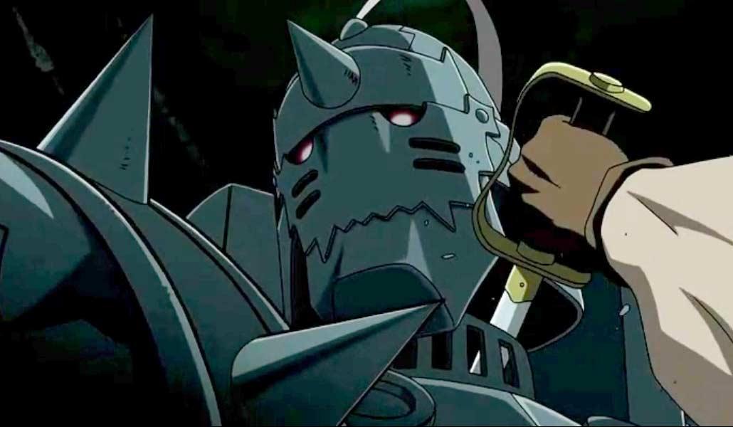 Martel était cachée dans le corps d'Alphonse lorsque King Bradley l'a tuée