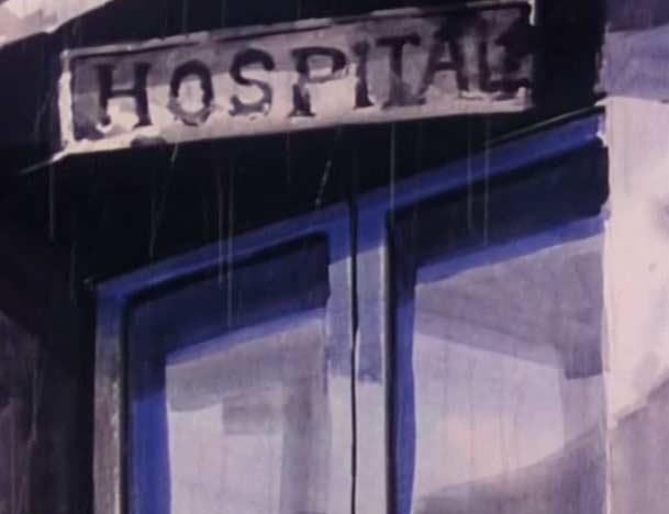 L'hôpital où travaillait le Docteur Zéro était complètement délabré