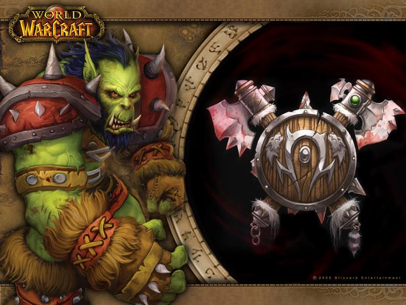 Fond d'écran des orcs (World of Warcraft)