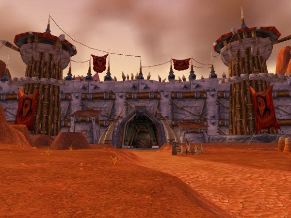 Capture d'écran d'Orgrimmar