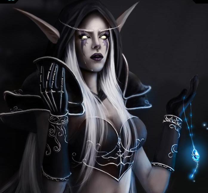 Fan art de Sylvanas Coursevent (World of Warcraft)