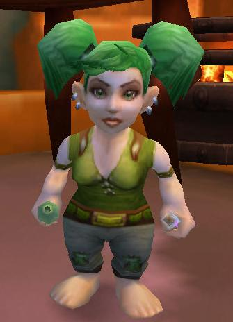 Image d'une gnome dans world of Warcraft