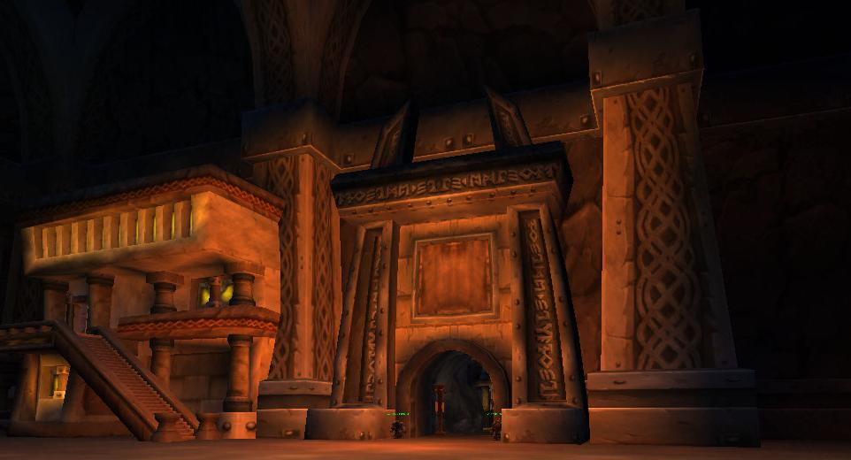 Image de Forgefer, capital des nains dans World of Warcraft
