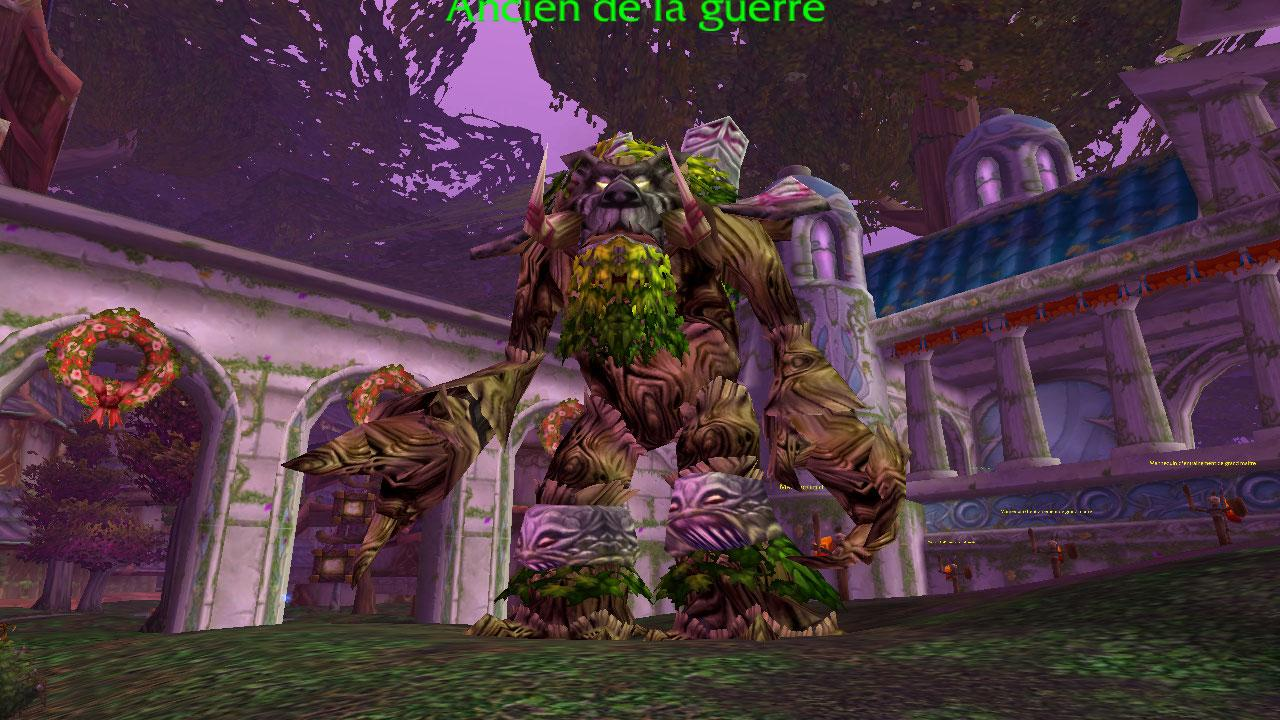Image d'un ancien de la guerre à Teldrassil (World of Warcraft)