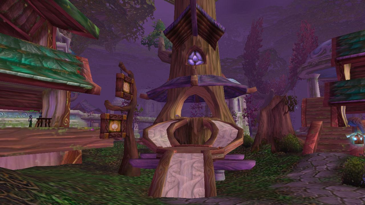 Image de Teldrassil (World of Warcraft)