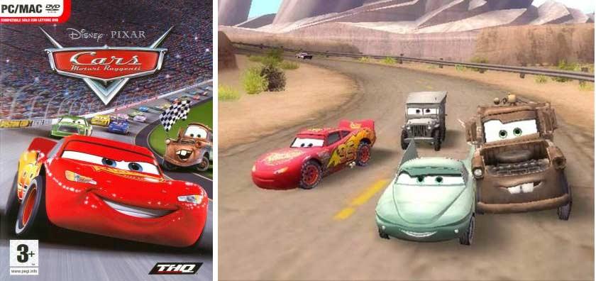 Flash McQueen (Lightning McQueen) jeu vidéo