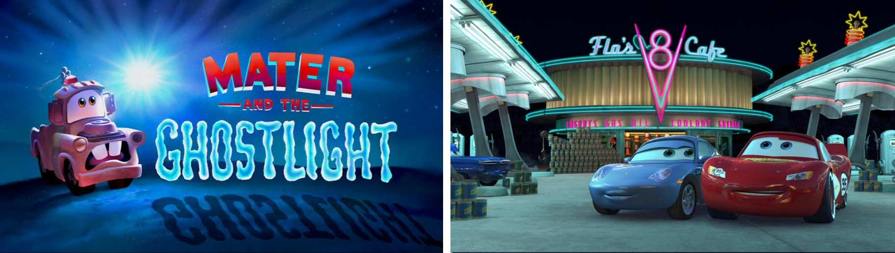 Flash dans Martin et la lumière fantôme (Cars - Pixar)
