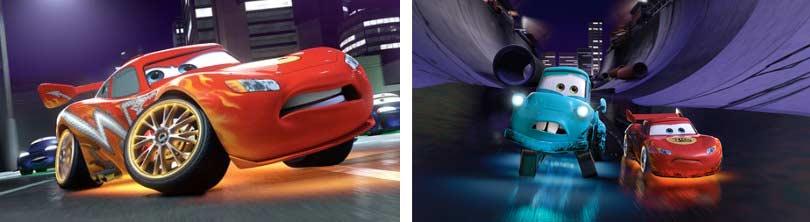 Flash dans Tokyo Martin (Cars - Pixar)
