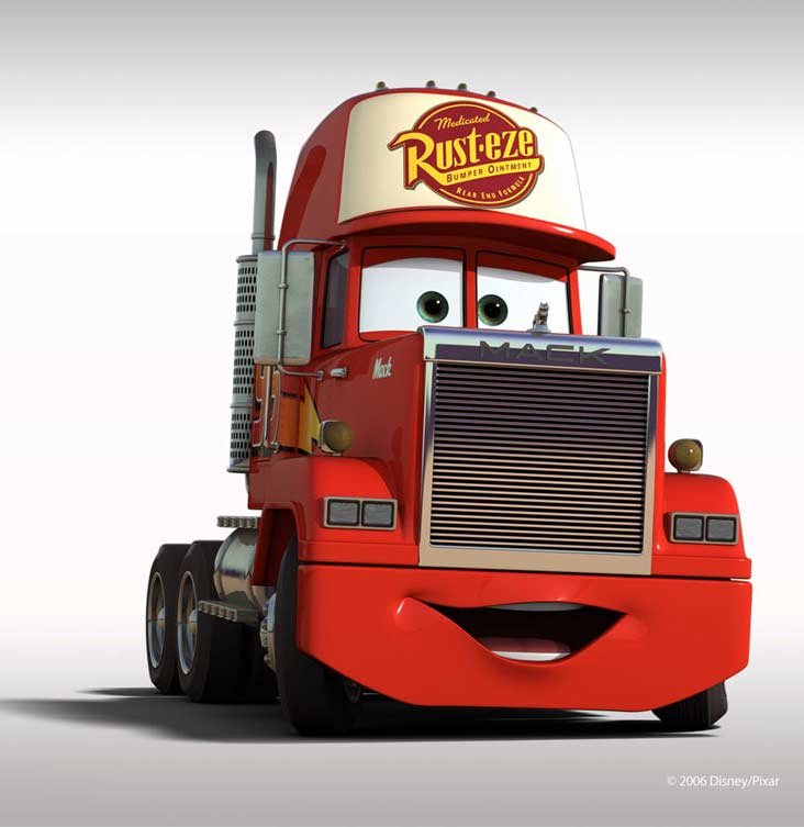 Mack (Pixar - Cars)